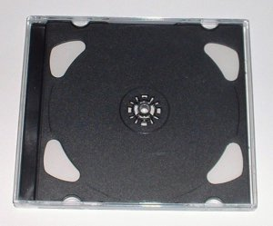 FREE USA Shipping NEW 5 Standard DOUBLE Jewel Cases FOR Games Disc DVD CD Blank Case (Pack of 5)