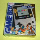 FREE USA S/H Rare NEW Nintendo GameBoy Color CGB-001 Pokemon Limited Edition GBC System Console