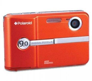 BRAND NEW Polaroid A930 9MP Digital Camera + USB Cable, Batteries Orange FACTORY SEALED FREE US Ship