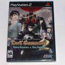 NEW Shin Megami Tensei Devil Summoner 2 Raidou Kuzunoha VS King Abaddon Sony PlayStation PS2 Game