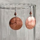 Copper earings
