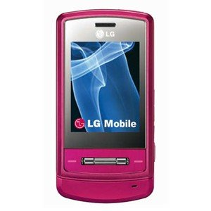LG KE970 Pink Shine Unlocked GSM Phone