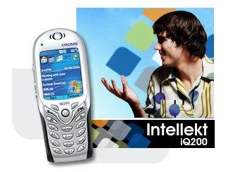Krome Intellekt iQ200 PDA/Mobile Tri-Band Cellular Phone (Unlocked)