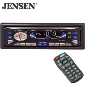 JENSEN AM FM CD RECEIVER