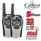 COBRA 2 WAY 5 MILE RANGE WEATHER RADIOS