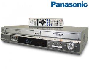 PANASONIC DVD RECORDER VCR COMBO