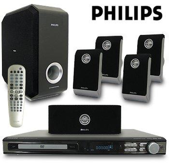 PHILIPS 700 WATT DVD HOME THEATRE SYSTEM