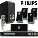 PHILIPS 700 WATT DVD HOME THEATRE SYSTEM