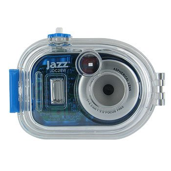 JAZZ WATER RESISTANT 3 IN 1 UNDERWATER DIGITAL CAMERA