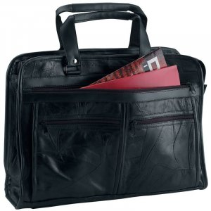 BCLBC - Maxam® Brand Italian Mosaic� Design Genuine Leather Briefcase