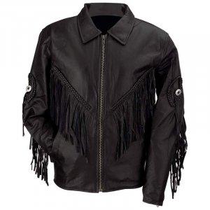 Diamond Plate� Ladies' Solid Genuine Leather Motorcycle Jacket sz Meduim