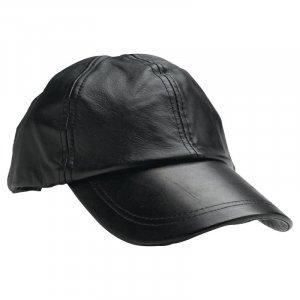 GFCAP2 - Giovanni Navarre® Solid Genuine Leather Baseball Cap