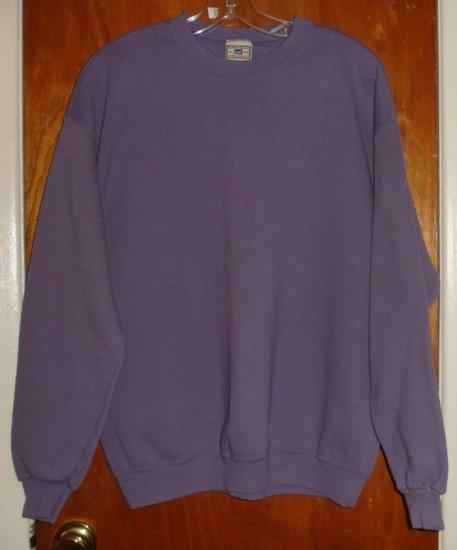 Lee Women's Purple Sweat Shirt size L