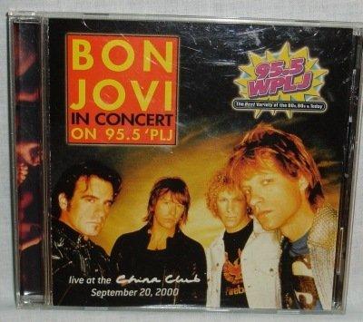 Bon Jovi in Concert on 95.5 WPLJ   RARE CD