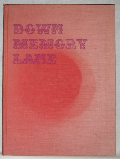 Down Memory Lane autographed by Arthur Murray 1955