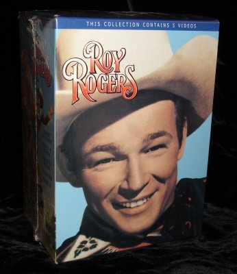 Roy Rogers Collection of 5 Videos VHS  SEALED