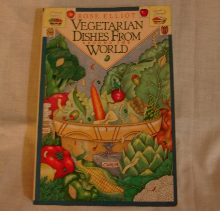 Vegetarian Dishes From Around the World by Rose Elliott    paperback recipe book