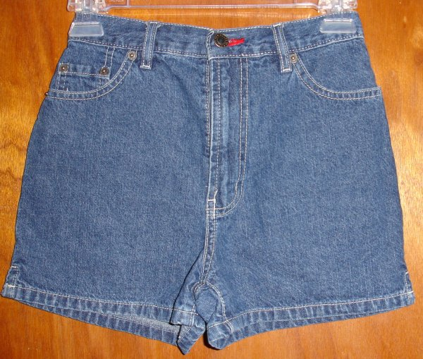 Girl's Route 66 lightweight soft denim shorts size 10 - very good condition