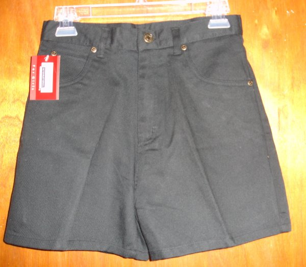 NWT  Girl's Black shorts size 14   by Premier  NEW WITH TAGS