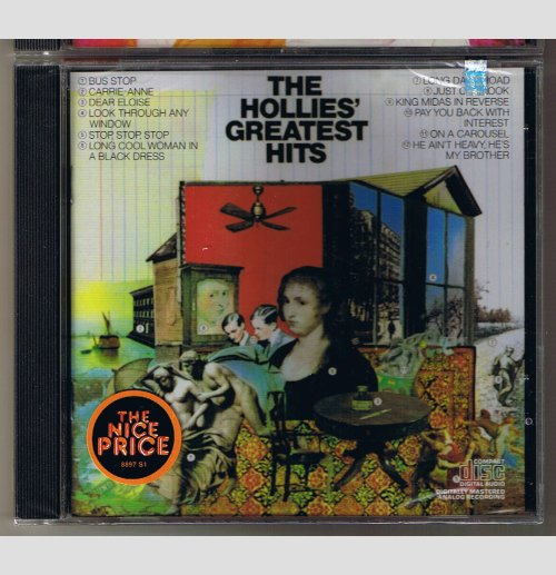 The Hollies Greatest Hits     CD    SEALED