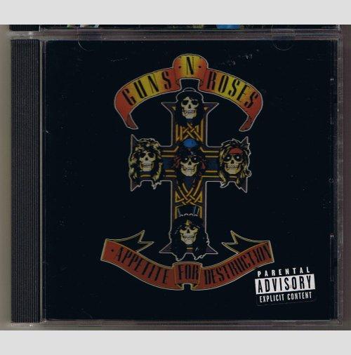 Guns N Roses - Appetite for Destruction    CD