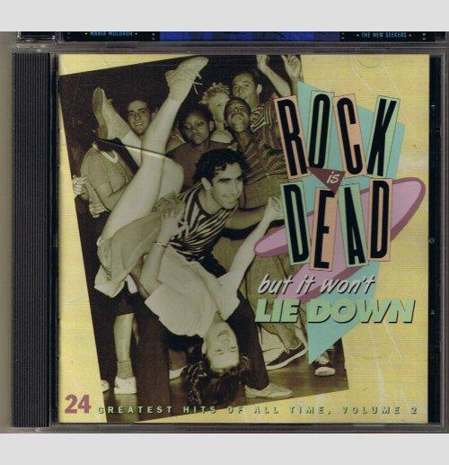 Rock is Dead But It Won't Lie Down   Volume 2 -    music CD