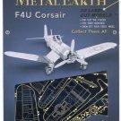 Metal Earth F4U CORSAIR Fighter Plane New 3D Puzzle Micro Model