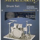 Metal Earth DRUM SET New 3D Puzzle Micro Model