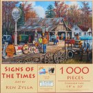 SunsOut Ken Zylla SIGNS OF THE TIMES 1000 pc New Jigsaw Puzzle Vintage Signs