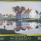 GRIST MILL STREAM 500 pc New Jigsaw Puzzle Sally Caldwell Fisher