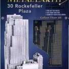 Metal Earth 30 ROCKEFELLER PLAZA New 3D Puzzle Micro Model