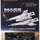 Metal Earth Mass Effect SX3 ALLIANCE FIGHTER New 3D Puzzle Micro Model