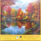 SunsOut AUTUMN TRANQUILITY 1000 pc New Jigsaw Puzzle XL Pieces Abraham Hunter