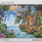 Clemontoni TIGER'S FAMILY New 3000 pc Jigsaw Puzzle
