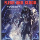 PREDATOR FLESH AND BLOOD Michael Jan Friedman Robert Berger 1st Printing OOP