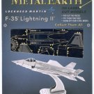 Metal Earth F35 LIGHTNING II New 3D Puzzle Micro Model