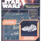 Metal Earth Star Wars FIRST ORDER SNOWSPEEDER New 3D Puzzle Micro Model