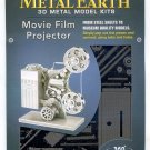 Metal Earth MOVIE FILM PROJECTOR New 3D Puzzle Micro Model