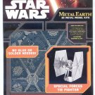 Metal Earth Star Wars SPECIAL FORCES TIE FIGHTER New 3D Puzzle Micro Model