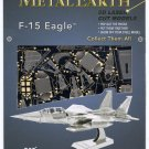 Metal Earth Boeing F15 EAGLE Jet Fighter New 3D Puzzle Micro Model