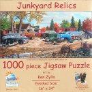 SunsOut KenZylla JUNKYARD RELICS 1000 pc New Panorama Jigsaw Puzzle
