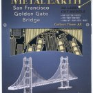 Metal Earth SAN FRANCISCO GOLDEN GATE BRIDGE New 3D Puzzle Micro Model