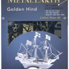 Metal Earth GOLDEN HIND Sir Francis Drake New 3D Puzzle Micro Model