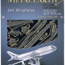 Metal Earth JET AIRPLANE New 3D Puzzle Micro Model