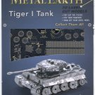 Metal Earth TIGER I TANK WWII German Tank New 3D Puzzle Micro Model