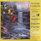 SunsOut HERITAGE CARDINALS New 1000 pc Jigsaw Puzzle XL Pieces James Meger