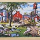Cobble Hill FARMYARD COMPANIONS 1000 pc New Jigsaw Puzzle Ken Zylla