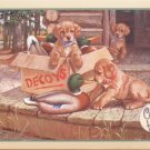 Cobble Hill Doggie Decoys 1000 pc New Jigsaw Puzzle Puppies