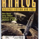 ANALOG SF Magazine March 1998 Ben Bova David Alexander Michael F Flynn
