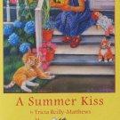 SunsOut A SUMMER KISS 300 pc New Jigsaw Puzzle Kittens